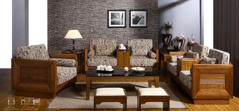 经典华贵的实木欧式沙发(图册)-古林家居