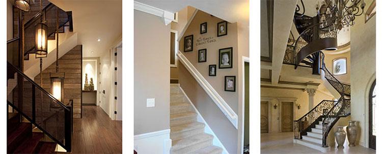 古林家居产品与服务之:实木楼梯系列-古林家居